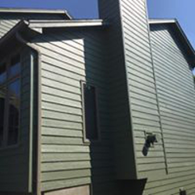 new house siding
