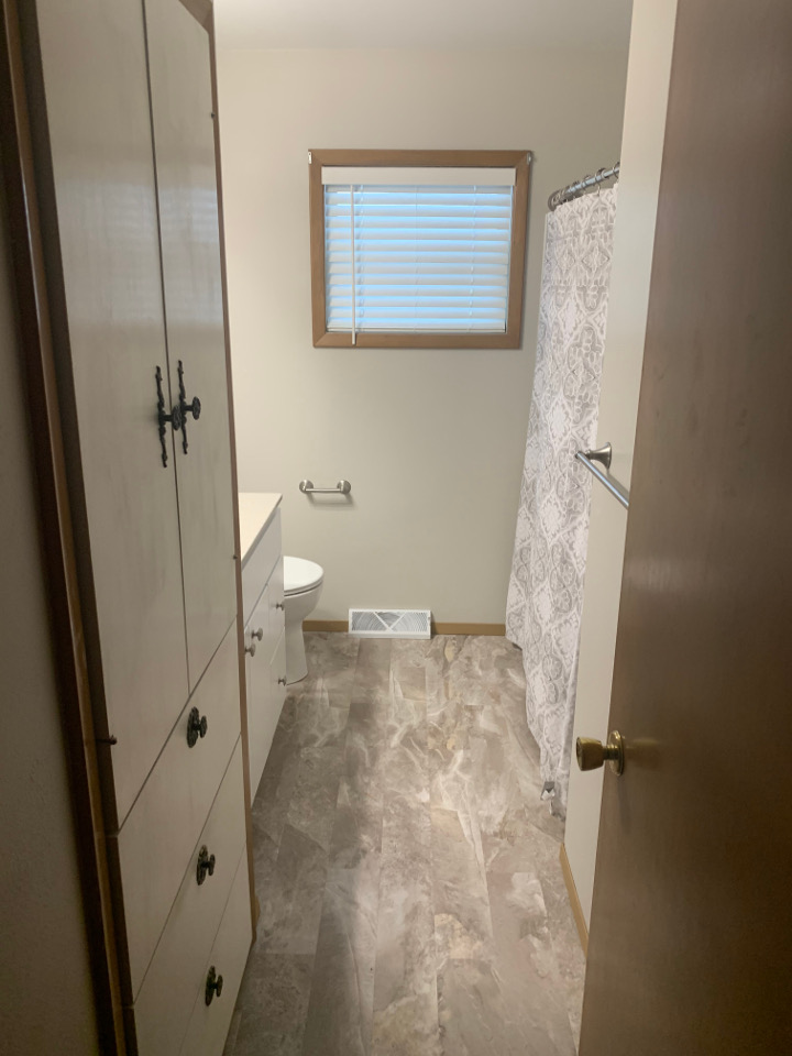 Bathroom Flooring Install