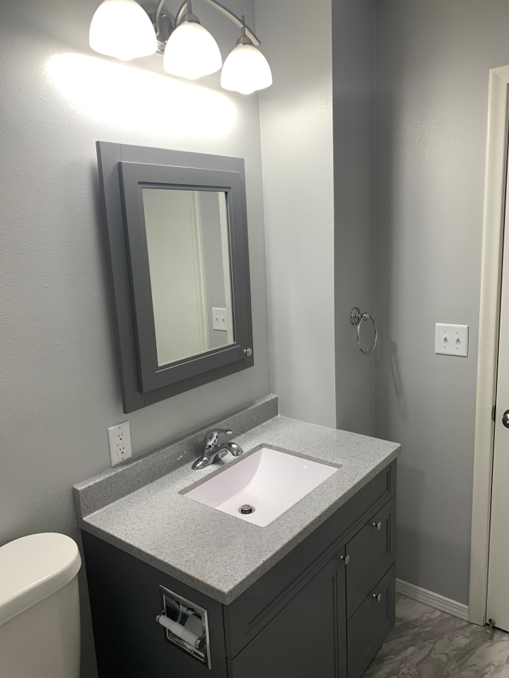 Bathroom Lighting, Sink Remodel