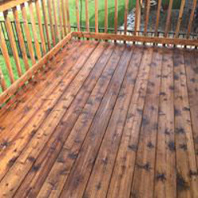 Deck Staining & Sealing