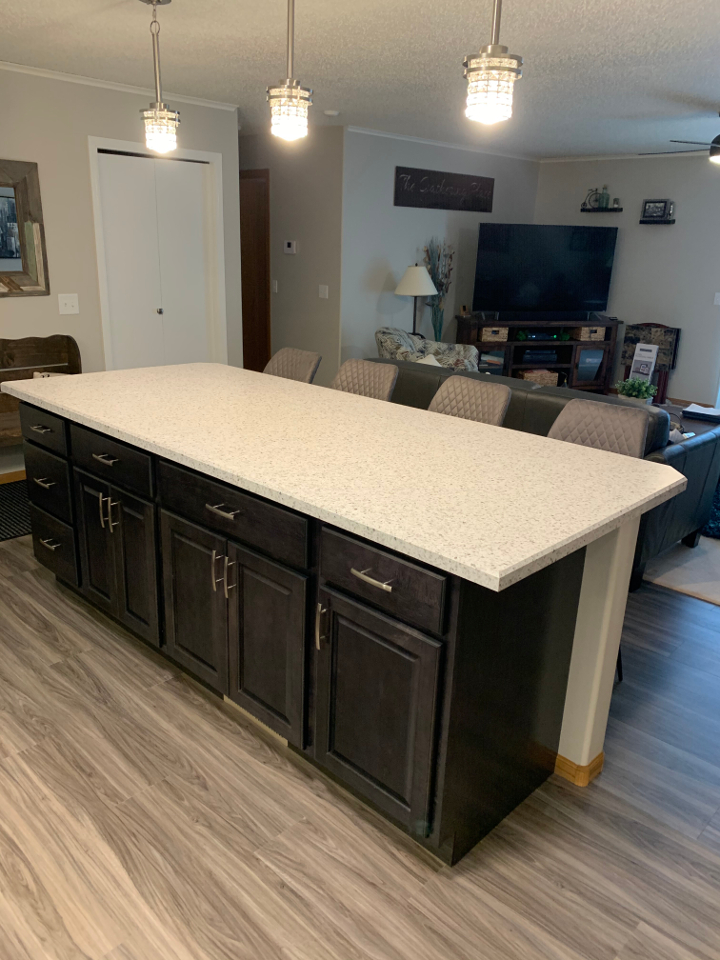 Sioux Falls Kitchen Remodeling Company Countertop Cabinets Lighting Floor Sink