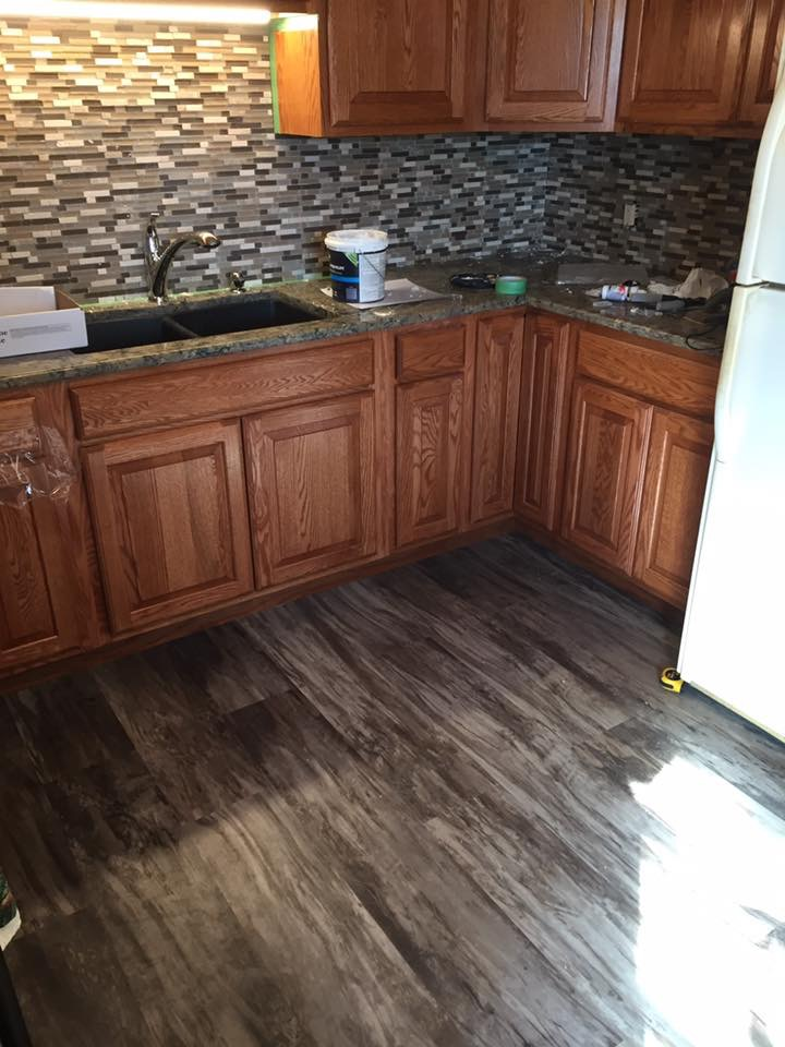 Kitchen Cabinets & Flooring Remodel