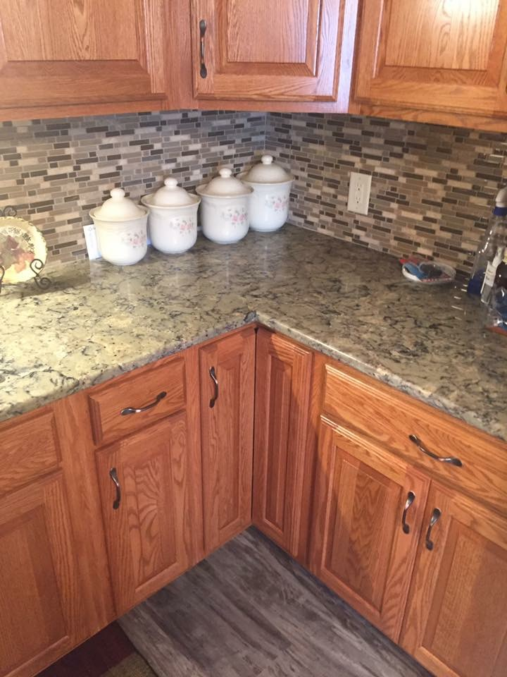 Kitchen Counter & Backsplash Remodel
